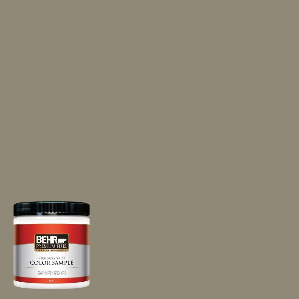 BEHR Premium Plus 8 oz. #780D-6 Witch Hazel Interior/Exterior Paint Sample