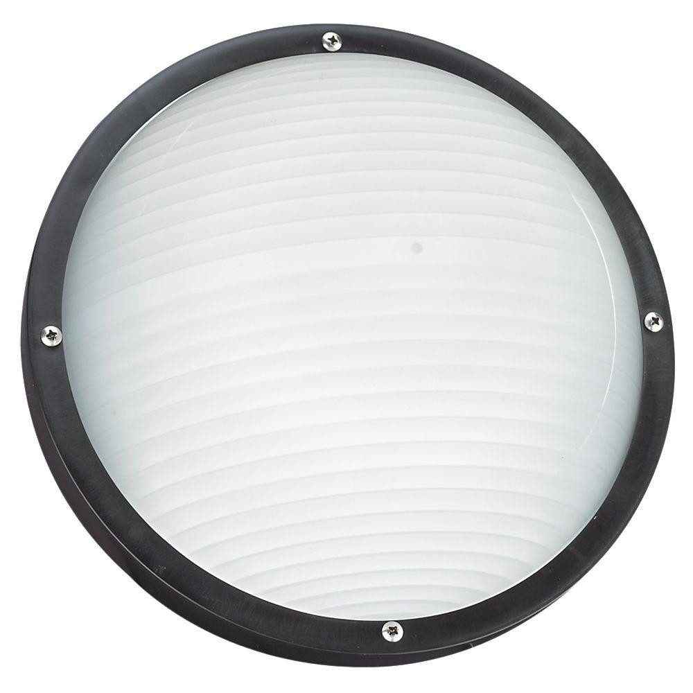 White led bulkhead lights outdoor wall mounted lighting the bayside 1 light outdoor black wallceiling fixture aloadofball