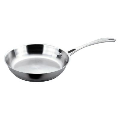 EarthChef Copper Clad 18/10 Stainless Steel 12 in. Fry Pan