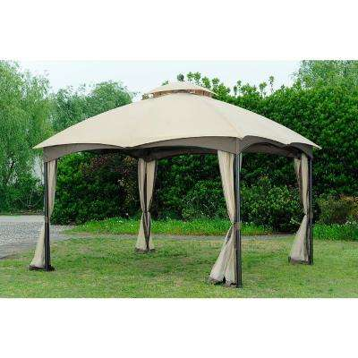 Replacement Canopy set (Beige/Deluxe) for L-GZ933PST 10X12 Bellagio/Biscayne Gazebo