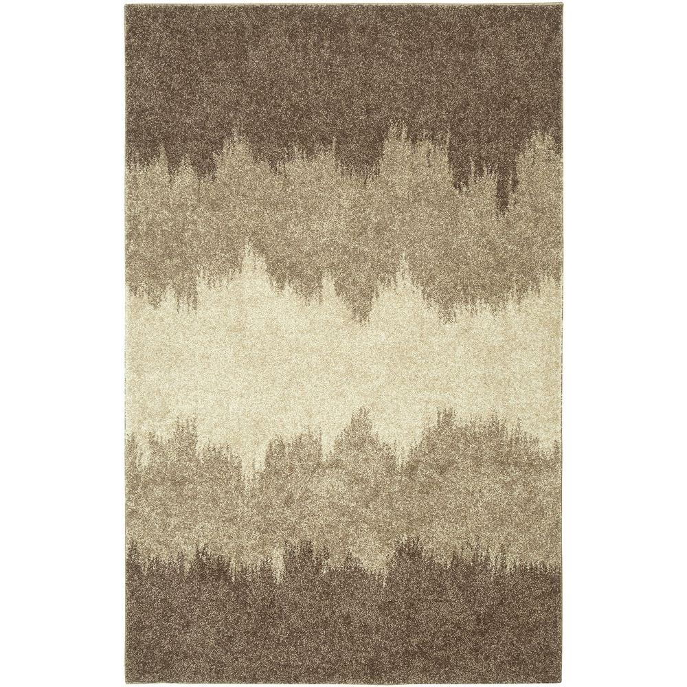 LR Resources Rock Dark Gray 5 ft. 3 in. x 7 ft. 5 in. Shaggy Indoor Area Rug