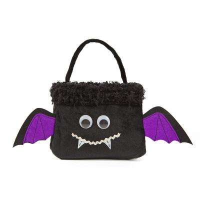 7 in. x 7 in. x 13 in. Bat Halloween Treat Bag