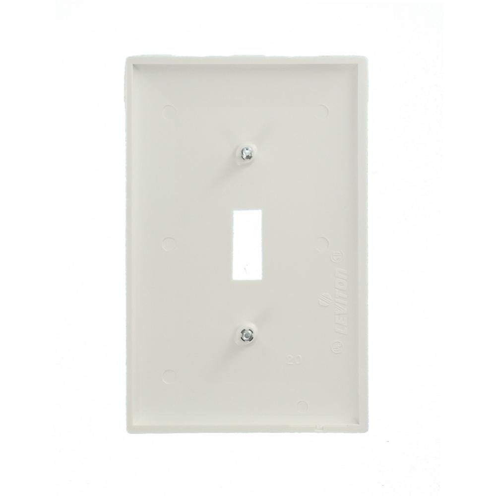 DEAL OF 15 BY G.E.T STANDARD WHITE PLASTIC SINGLE 1 GANG SWITCHES 1 OR 2 WAY