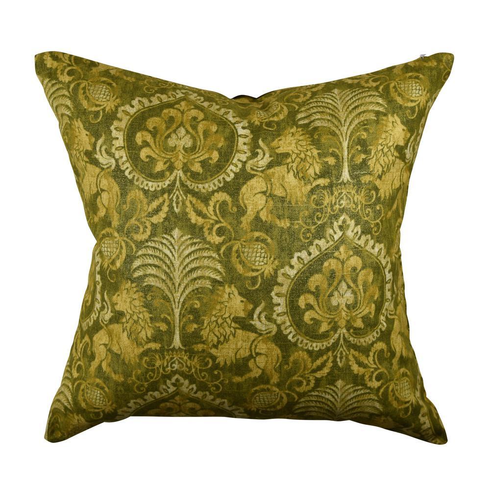 Vesper Lane Fleur De Lis Throw Pillow Fd01grz18i The Home Depot