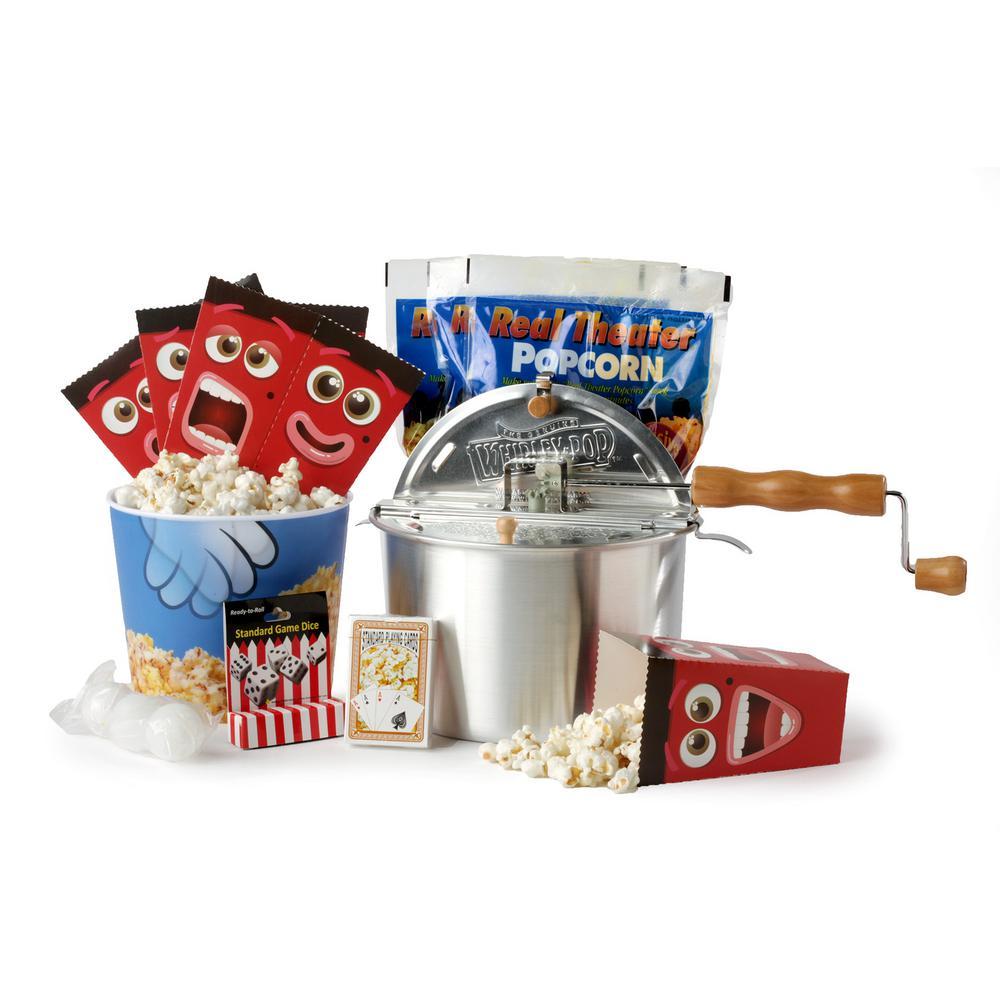 12-Piece Aluminum Popcorn Popper Set