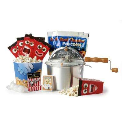 12-Piece Aluminum Popcorn Popper Set