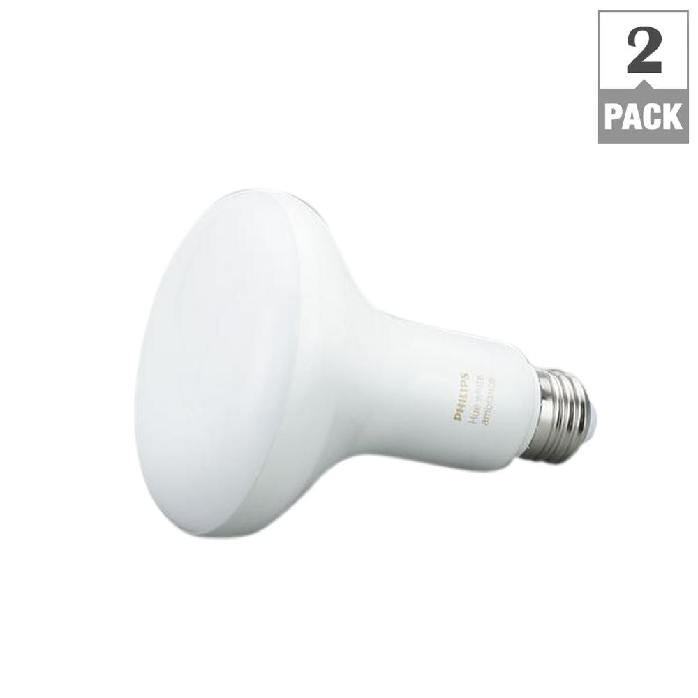 Philips Hue White Ambiance BR30 LED 60W LED Equivalent Dimmable ...