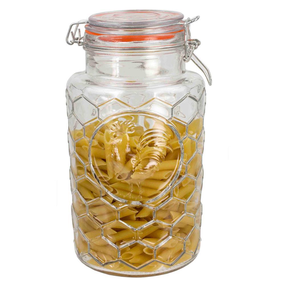 67 Oz. Medium Glass Rooster Jar