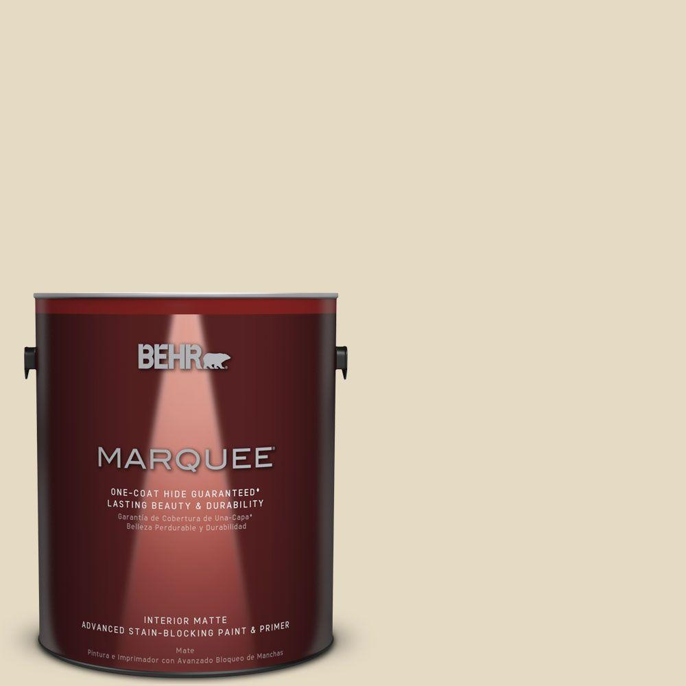 1 gal. #MQ2-31 Scribe Matte One-Coat Hide Interior Paint and Primer