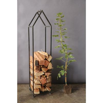 House Shaped Metal Log Holder