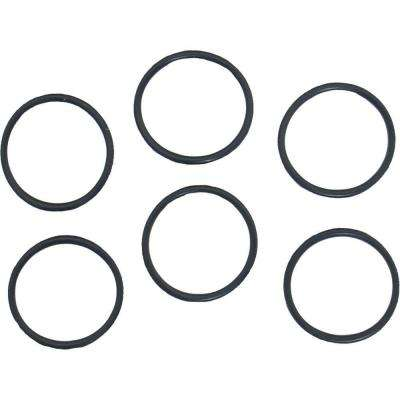 7/8 in. O.D. x 3/4 in. #230 Rubber O-Ring (6-Pack)