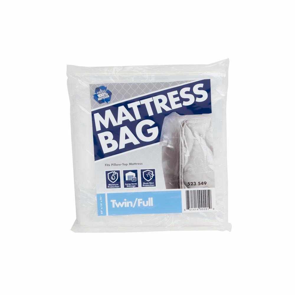 Pratt Retail Specialties 91 in. x 54 in. x 14 in. Twin and Full Mattress Bag