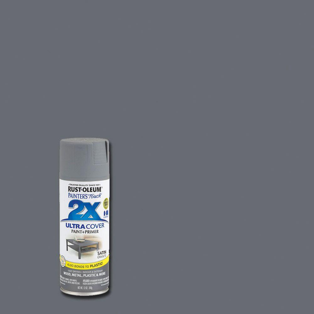 Rust-Oleum Painter's Touch 2X 12 oz. Satin Granite General Purpose Spray Paint
