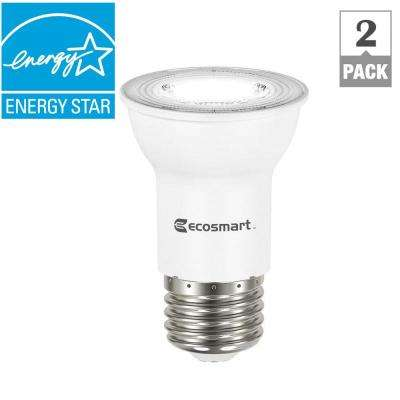 35W Equivalent Bright White PAR16 Dimmable LED Flood Light Bulb (2-Pack)