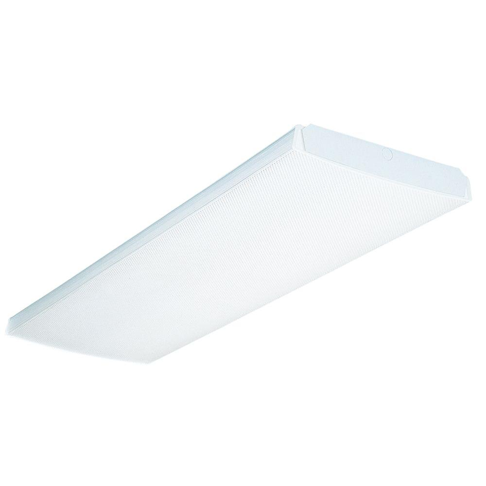 LB 2 32 120 RE 2-Light Fluorescent Wraparound for Residential Use