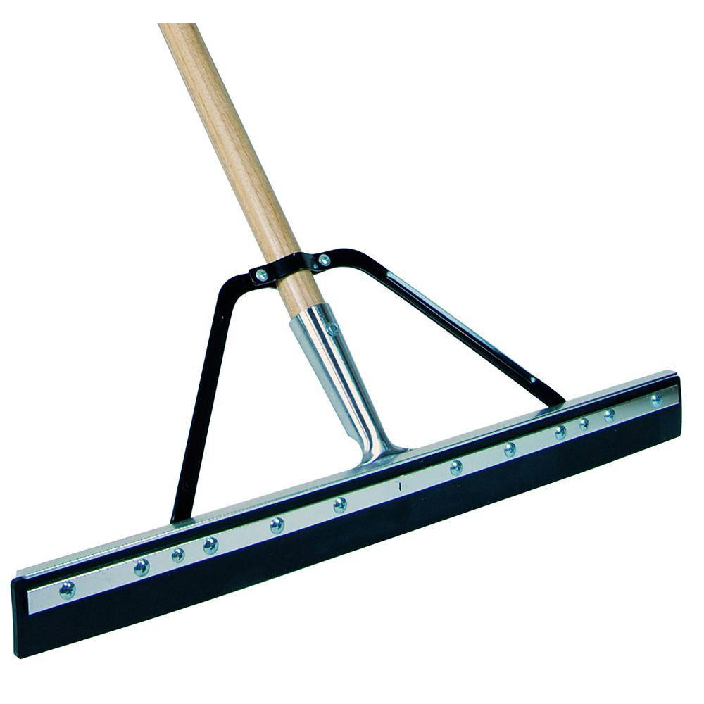 Floor squeegeevikan plastic floor squeegee handle heavy for Floor squeegees heavy duty