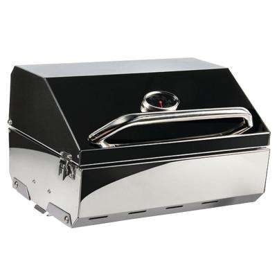 Portable Propane Gas 216 Elite Grill in Stainless Steel