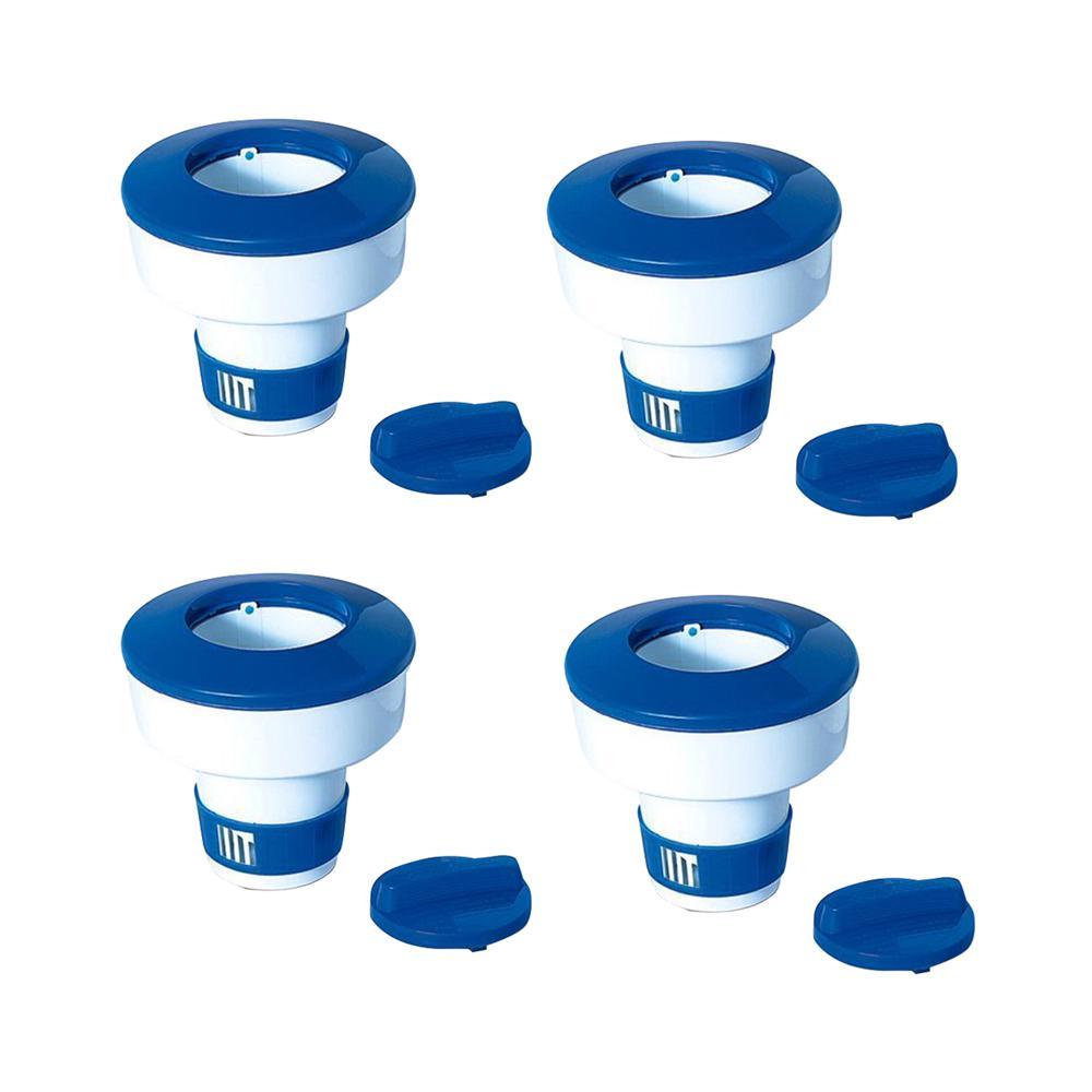 Pool Adjustable Floating Chlorine Dispenser (4-Pack)