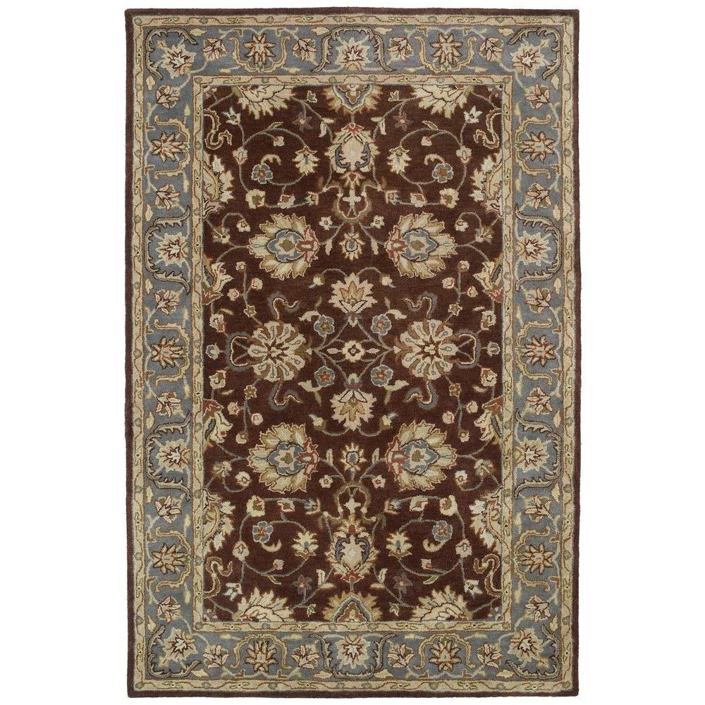 Kaleen Mystic Aegon Brown 5 ft. x 7 ft. 9 in. Area Rug