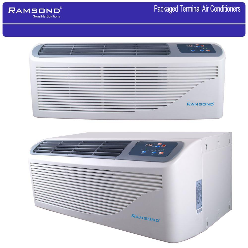ramsond packaged terminal air conditioning 12,000 btu (1 ton) + 5 kw