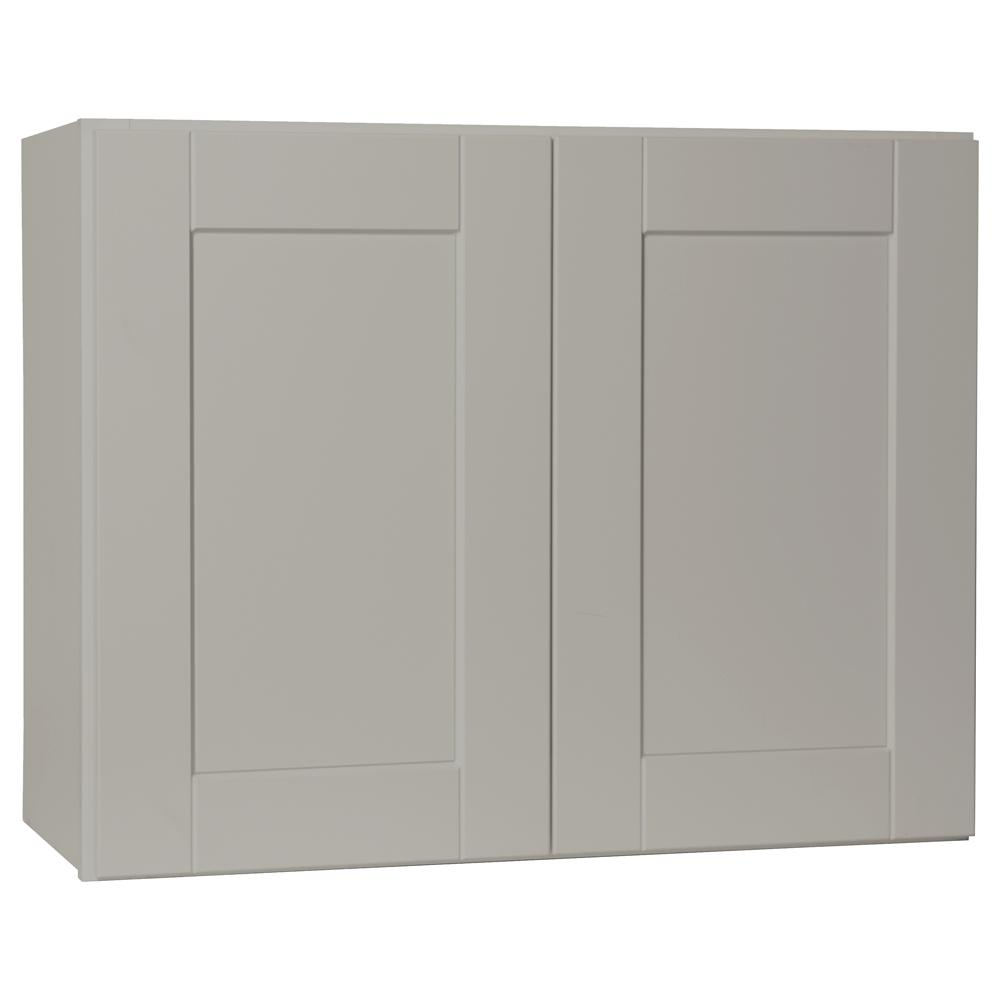 Hampton Bay Shaker Assembled 30x23.5x12 In. Wall Bridge