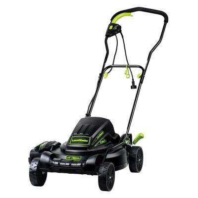 18 in. 10 Amp 2-in-1 Walk Behind Corded Electric Push Mower with Mulch and Side Discharge