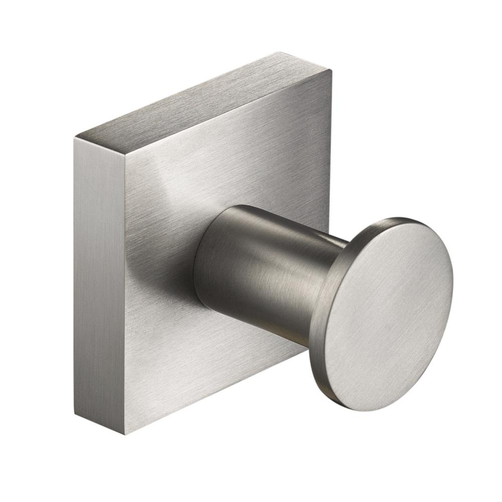 . KRAUS Ventus Bathroom Robe and Towel Hook in Brushed Nickel