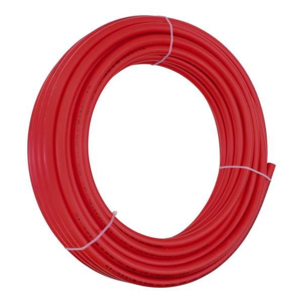 3/4 in. x 100 ft. Red Coil PERT Pipe