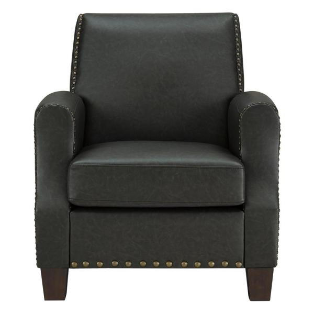 Dorel Living Raymond Dark Gray Club Chair FH7440