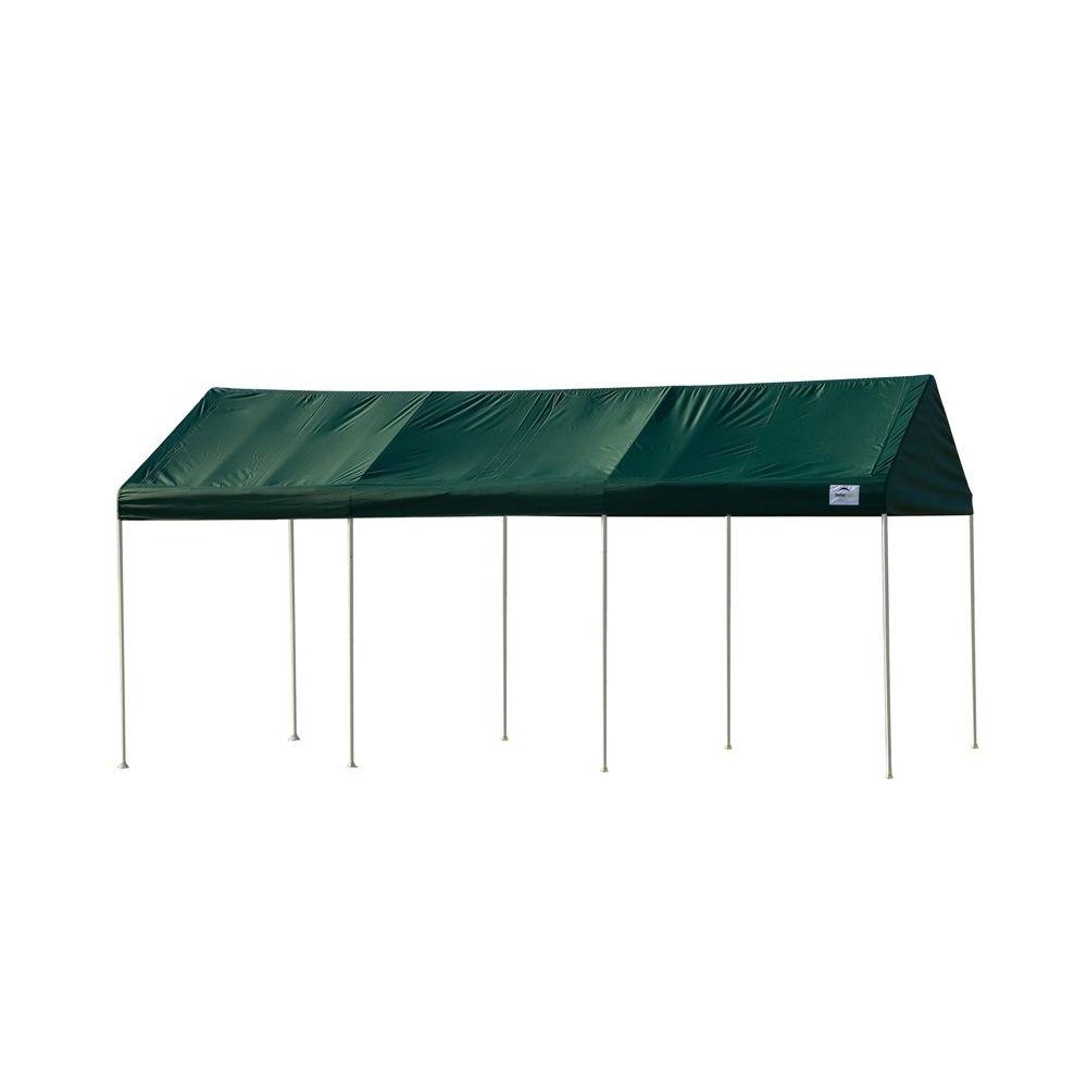 ShelterLogic Decorative Series Celebration II 10 ft. x 20 ft. Green Canopy (1-3/8 in. Frame)-DISCONTINUED
