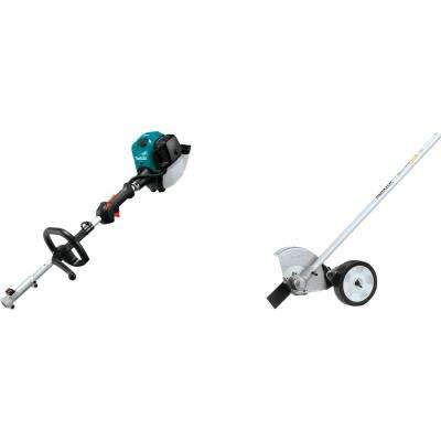 25.4 cc MM4 4-Stroke Couple Shaft Power Head and Edger Couple Shaft Attachment