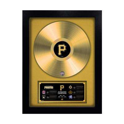 MLB Pittsburgh Pirates 5-Time World Series Champion Gold Record