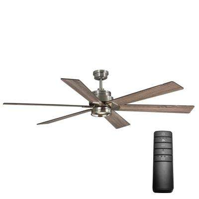 Commercial quick install ceiling fans with lights ceiling fans led brushed nickel ceiling fan with light kit and remote control aloadofball Images