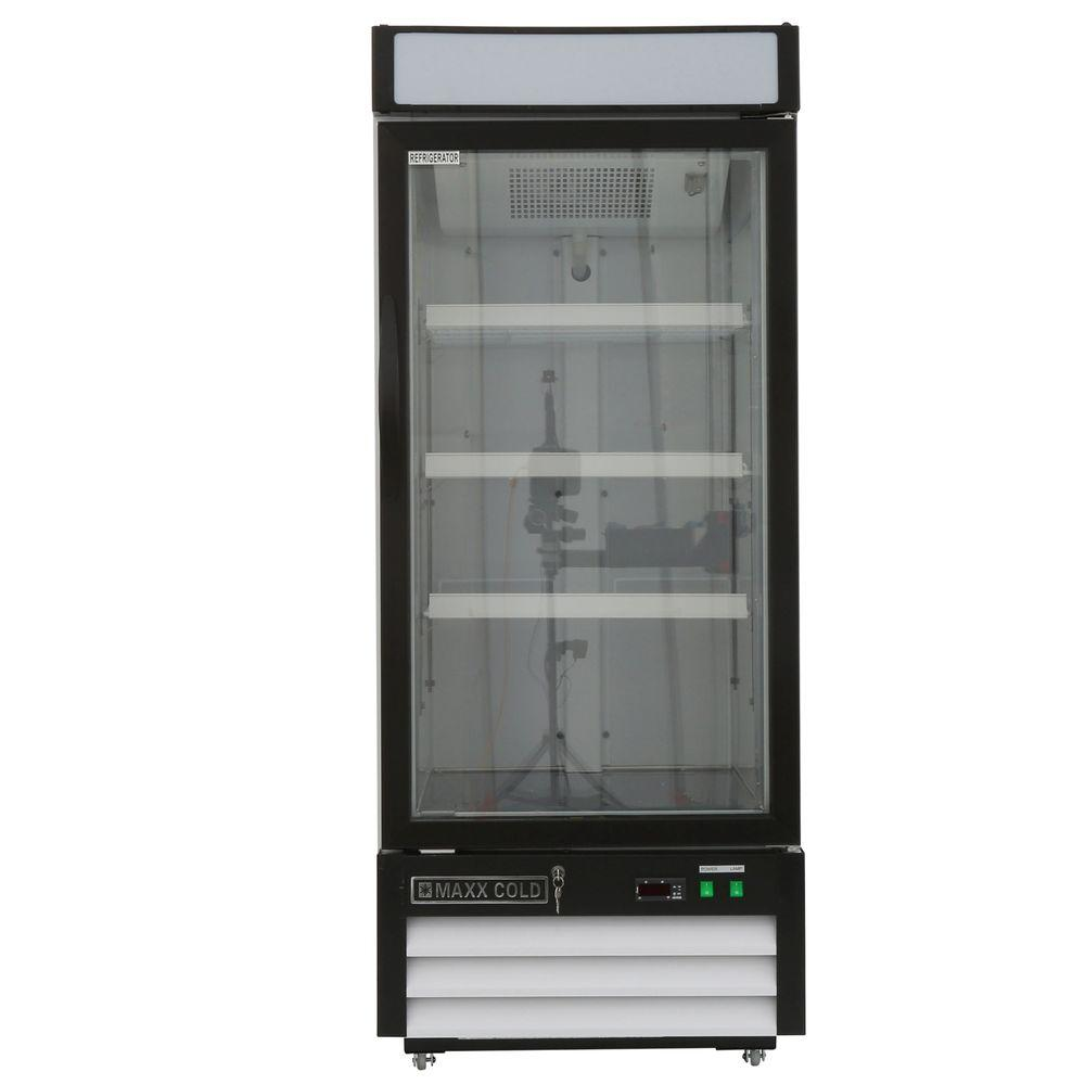 394d40d1944 Maxx Cold X-Series 12 cu. ft. Single Door Merchandiser Refrigerator in White