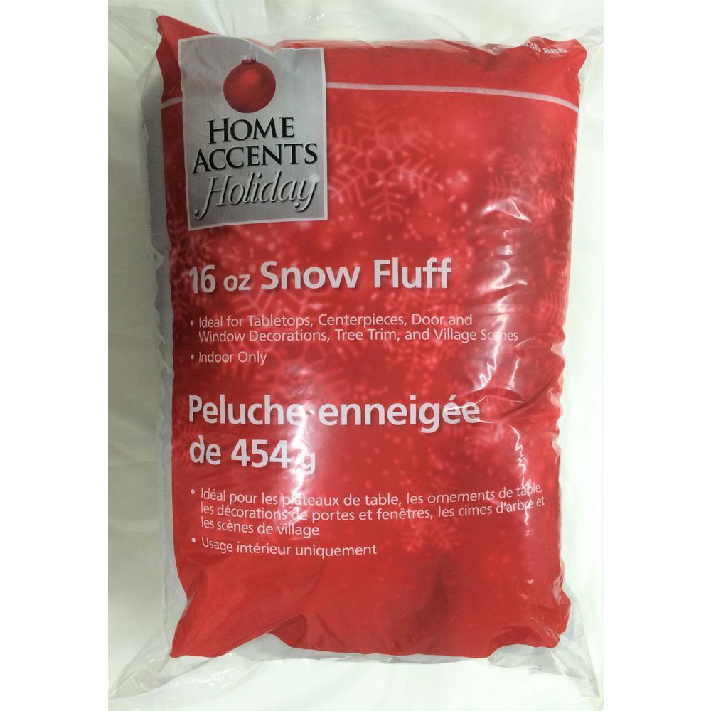 16 oz. Decorative Snow Fluff