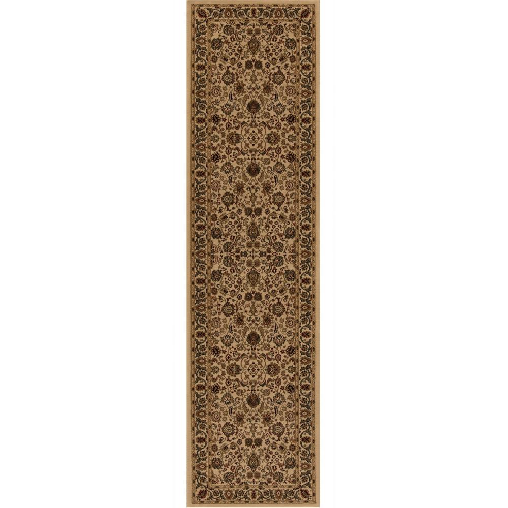 Concord Global Trading Persian Classics Mahal Ivory 2 Ft