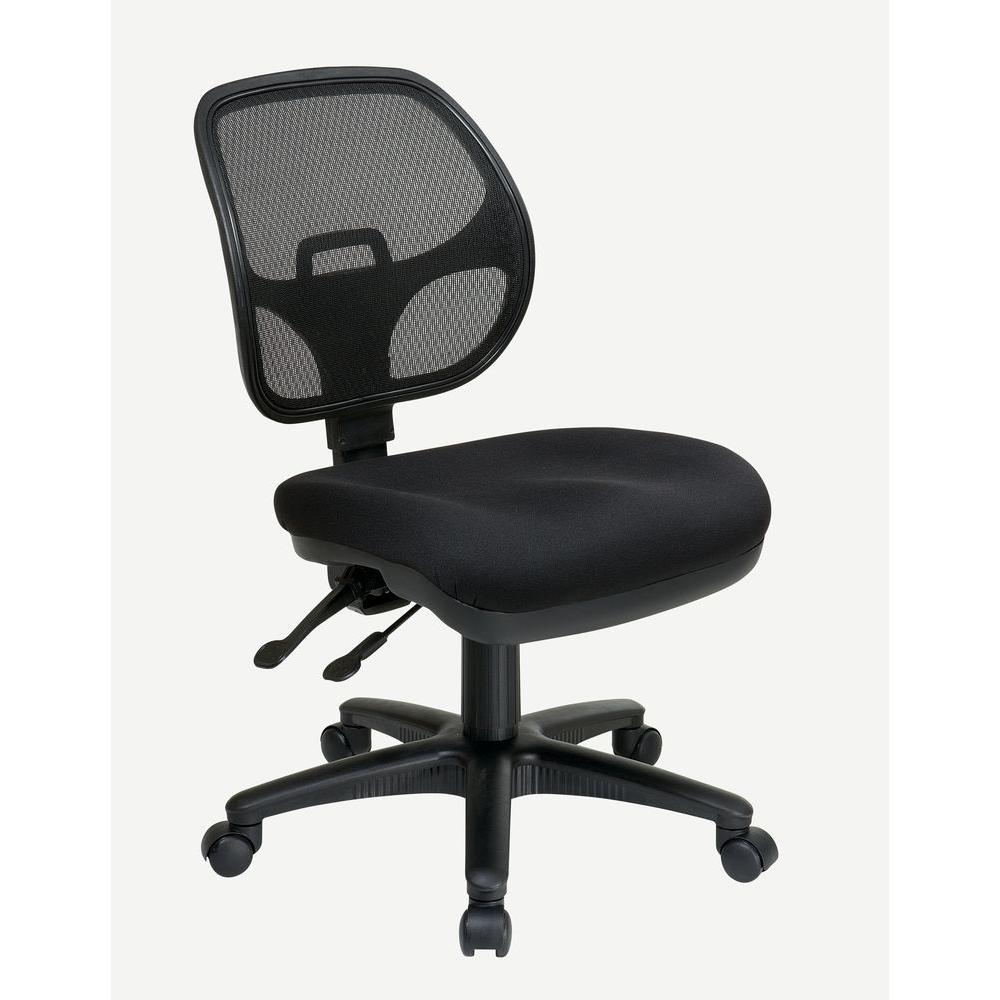 Beau Pro Line II Coal Fabric Office Chair