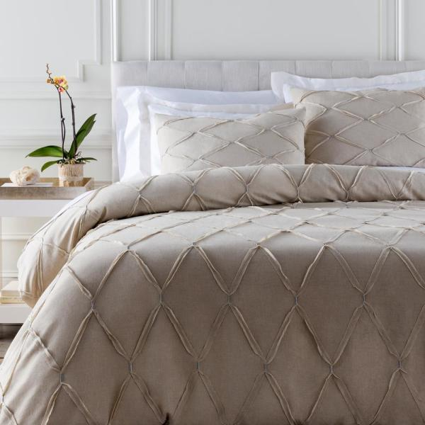 Artistic Weavers Alisa Light Gray King/CA King Duvet Set S00151052306