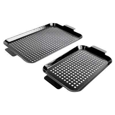 Porcelain Coated Grilling Grid Set (Set of 2)