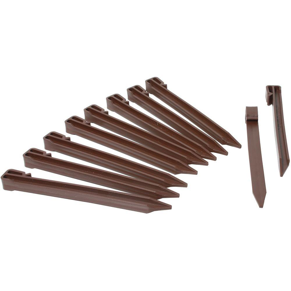 Master Mark Terrace Board Stakes in Brown (20-Pack)