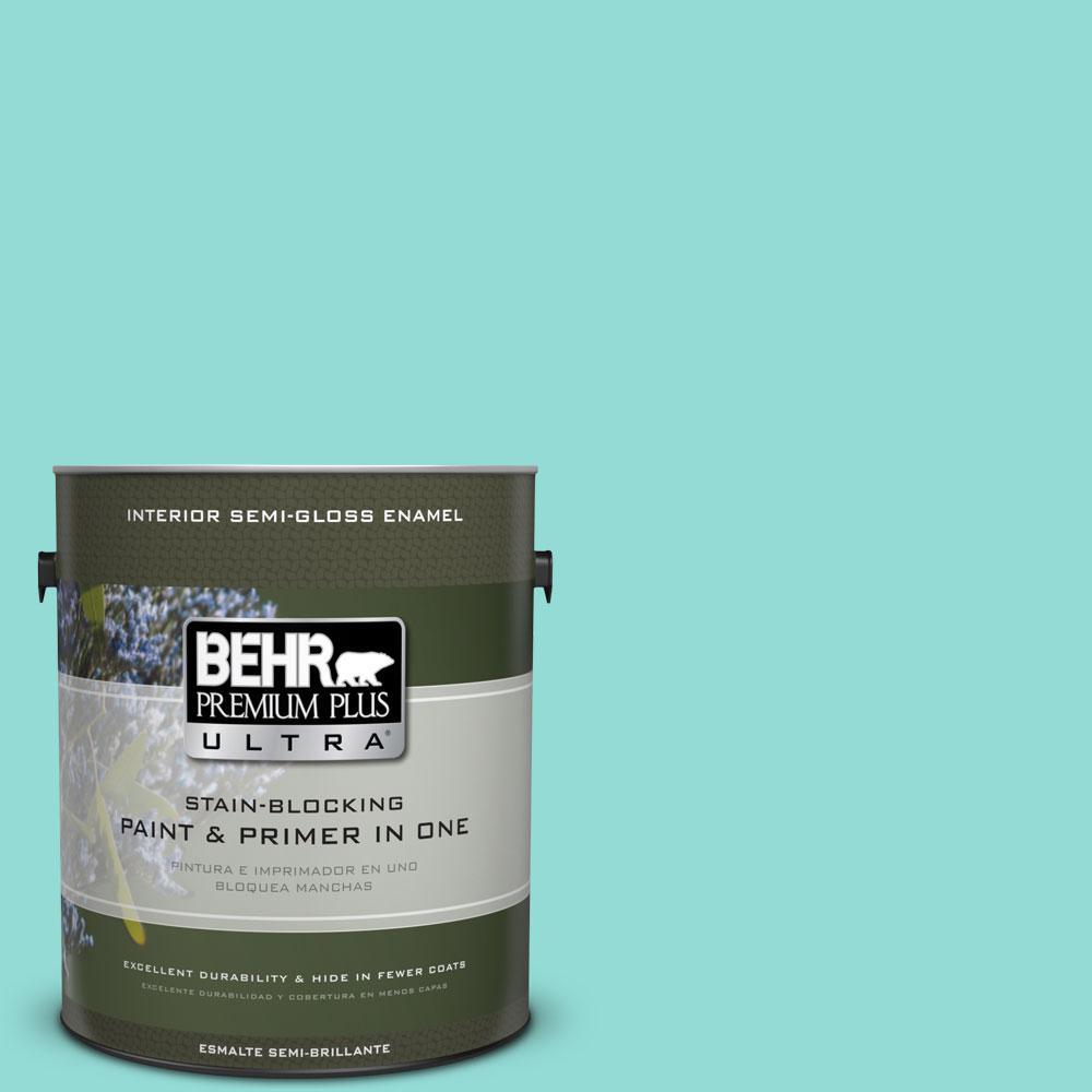 1-gal. #490A-3 Sweet Rhapsody Semi-Gloss Enamel Interior Paint