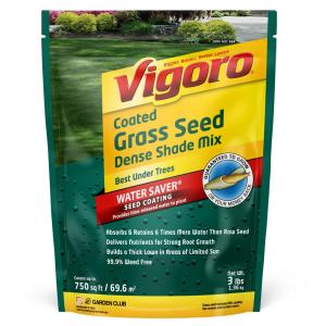 3 lbs. Dense Shade Grass Seed Mix with Water Saver Seed Coating