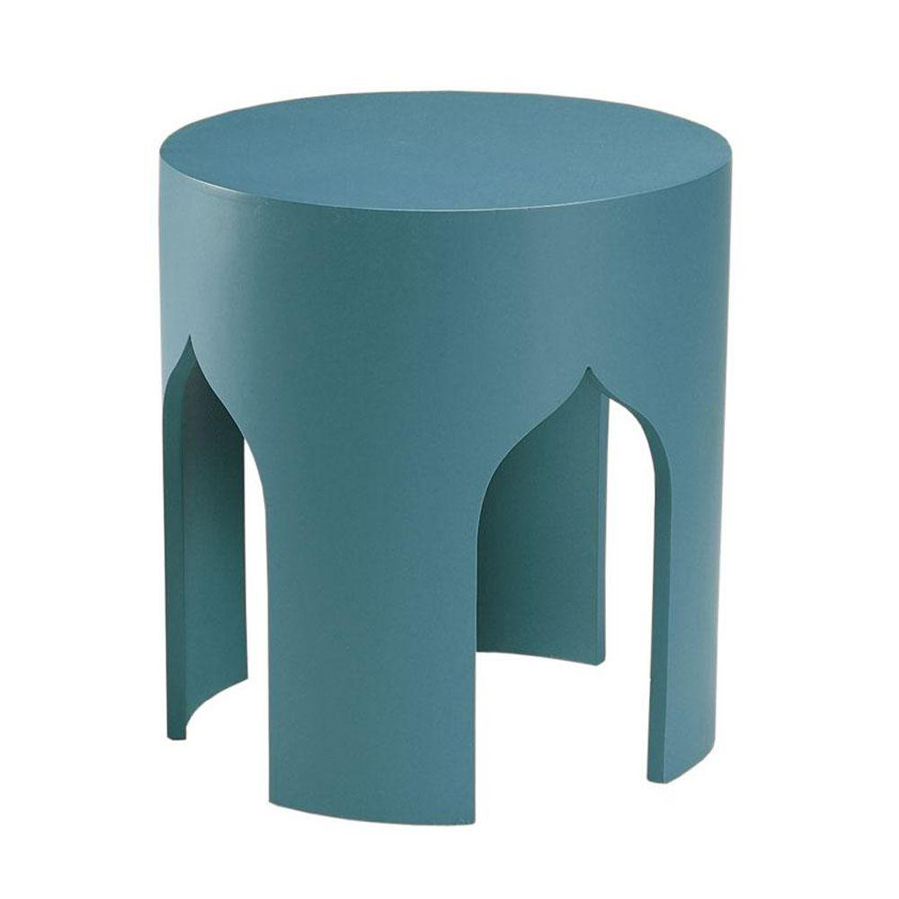Home Decorators Collection Accent Table in Macau Blue