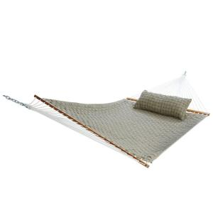 13 ft. Large Soft Weave Hammock in Flax by