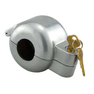 Gray Painted Die-Cast Knob Lock-Out Device