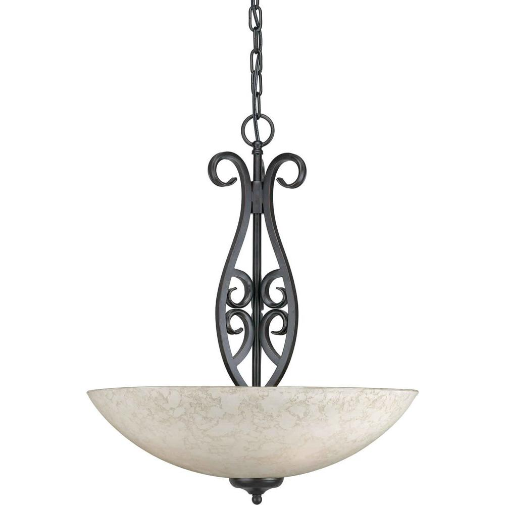 Talista Burton 4-Light Bordeaux Incandescent Pendant