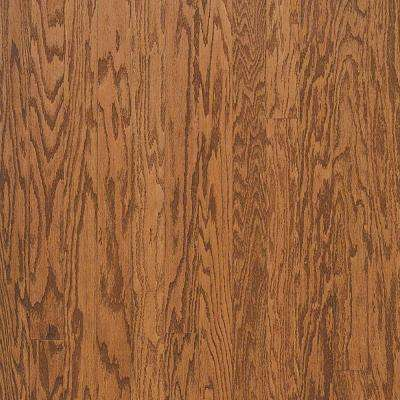 Town Hall Oak Gunstock Engineered Hardwood Flooring - 5 in. x 7 in. Take Home Sample