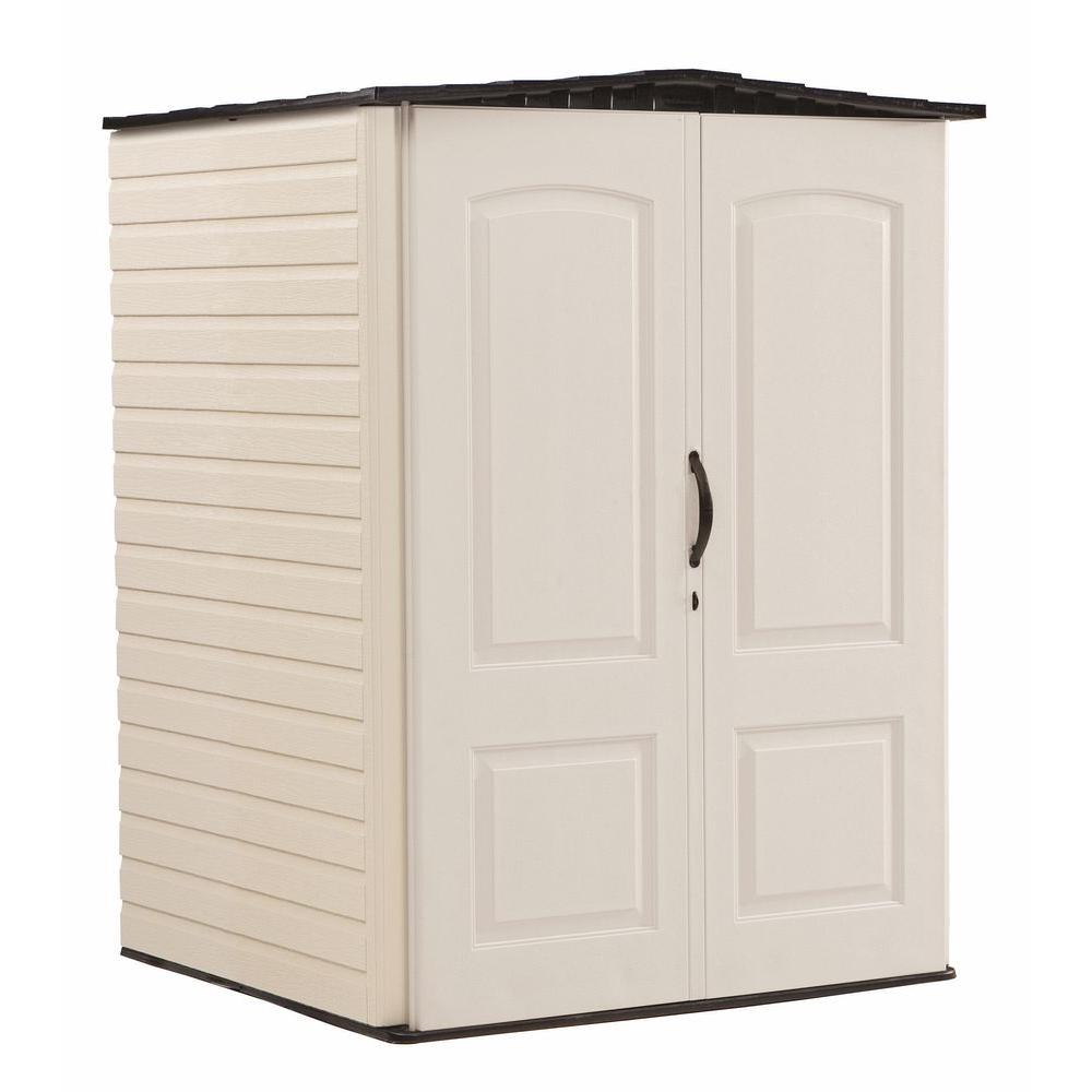 Rubbermaid 4 ft. 4 in. x 4 ft. 8 in. W Medium  sc 1 st  Home Depot : rubbermaid 7x7 storage shed  - Aquiesqueretaro.Com