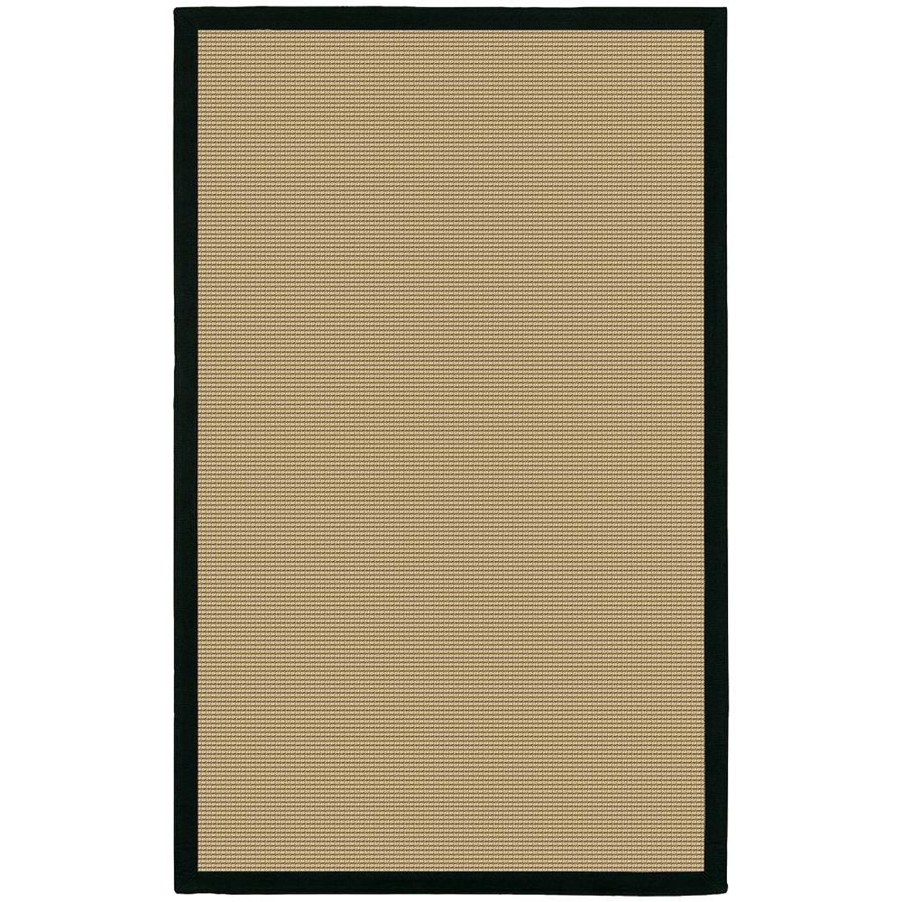 Chandra Bay Tan/Black 2 ft. x 3 ft. Indoor Area Rug