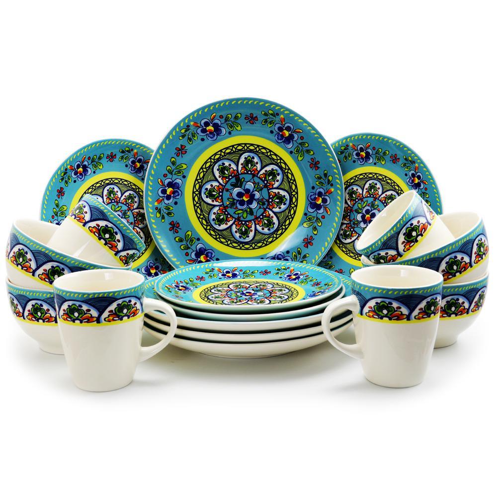 Santa Fe Springs 16-Piece Dinnerware Set